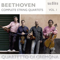 Beethoven: Complete String Quartets, vol. 1 CD cover
