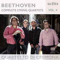 Beethoven: Complete String Quartets, vol. 2 CD cover