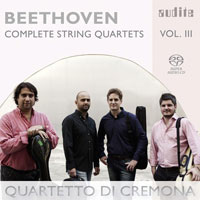 Beethoven: Complete String Quartets, vol. 3 CD cover