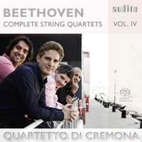 Beethoven: Complete String Quartets, vol. 4 CD cover