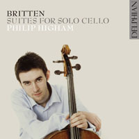 Britten: Suites for Solo Cello CD cover