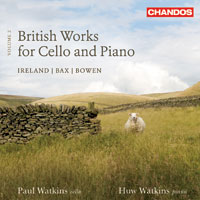 British Works for Cello and Piano, vol. 2