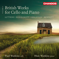 British Works for Cello and Piano, vol. 4